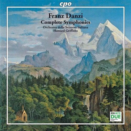 Danzi: Complete Symphonies von Howard Griffiths