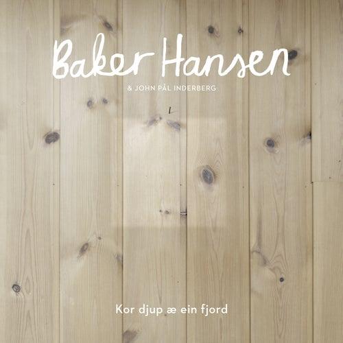Kor djup æ ein fjord by Baker Hansen