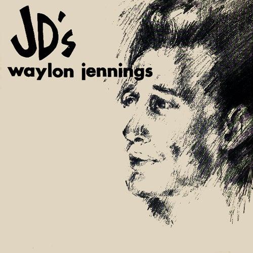 At JD's van Waylon Jennings