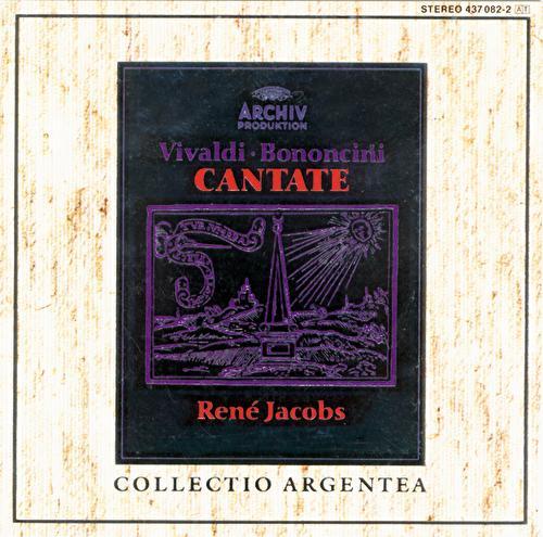 Vivaldi: Cantate Italiane / Bononcini: Cantate Pastorali de René Jacobs
