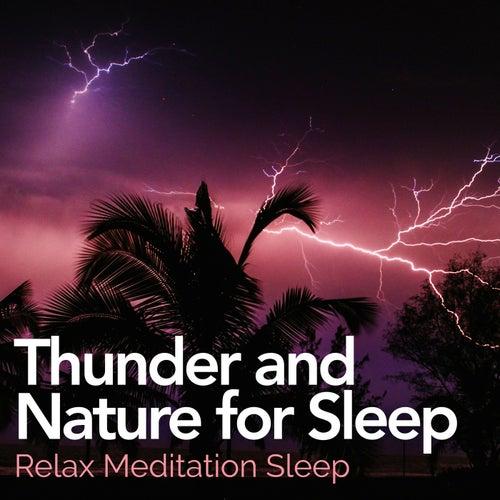 Thunder and Nature for Sleep de Relax Meditation Sleep