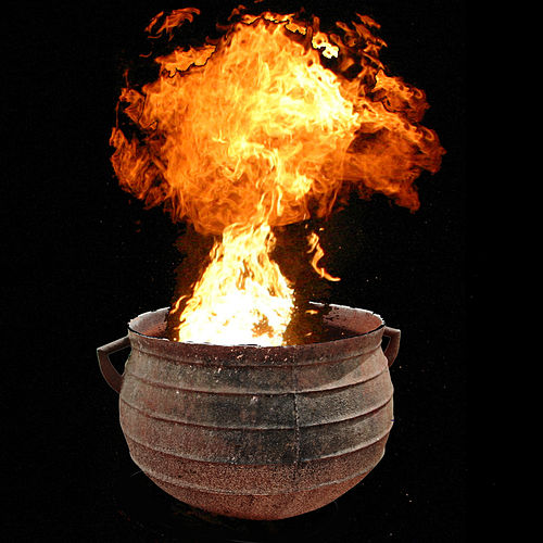 Cauldron of Fire by Entering Another