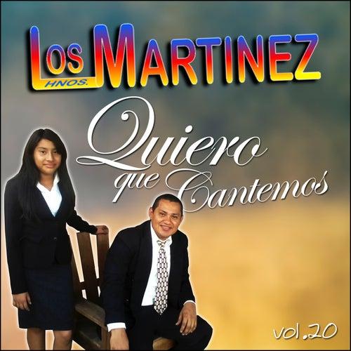 Quiero Que Cantemos, Vol. 20 de Los Hermanos Martinez de El Salvador