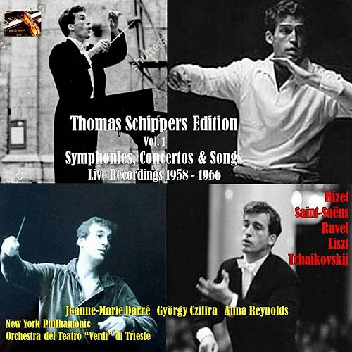 Thomas Schippers Edition, Vol. 1. Symphonies, Concertos & Songs by Thomas Schippers