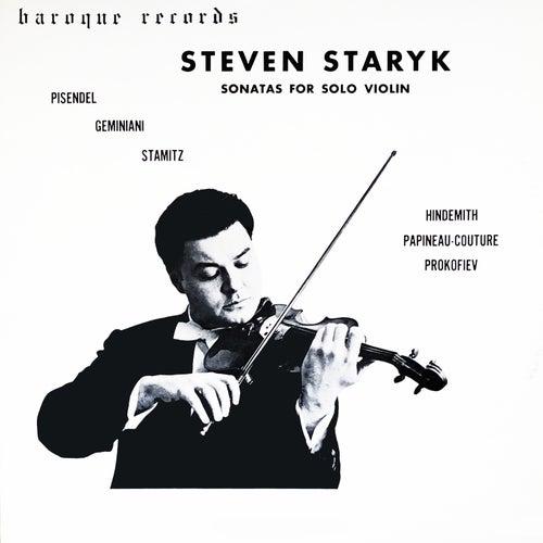 Sonatas For Solo Violin de Steven Staryk