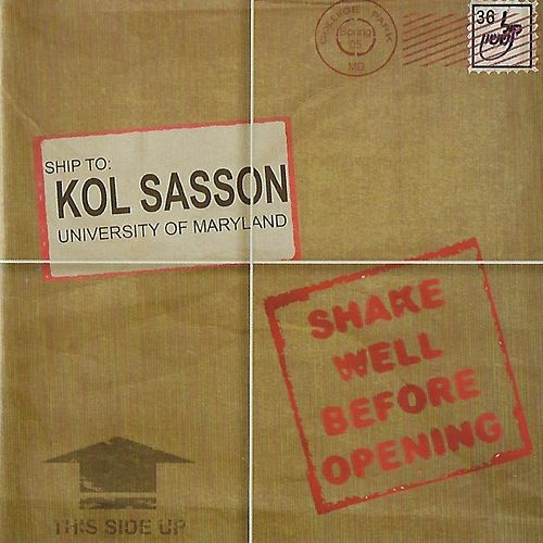 Shake Well Before Opening de Kol Sasson