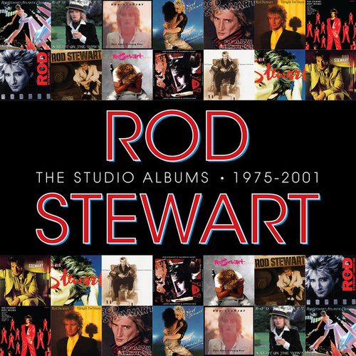 The Studio Albums 1975 - 2001 by Rod Stewart
