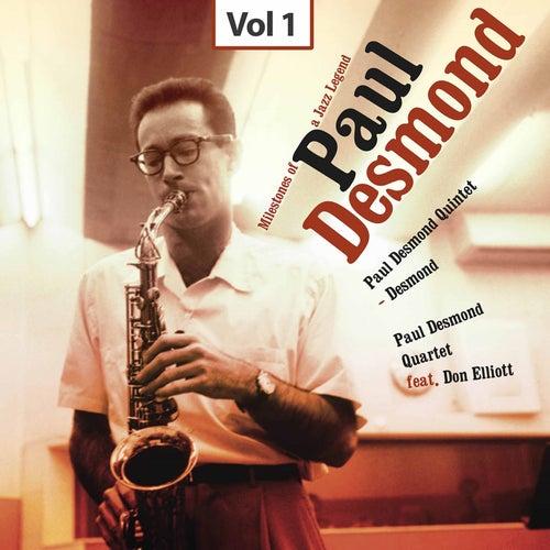 Milestones of a Jazz Legend - Paul Desmond, Vol. 1 by Various Artists