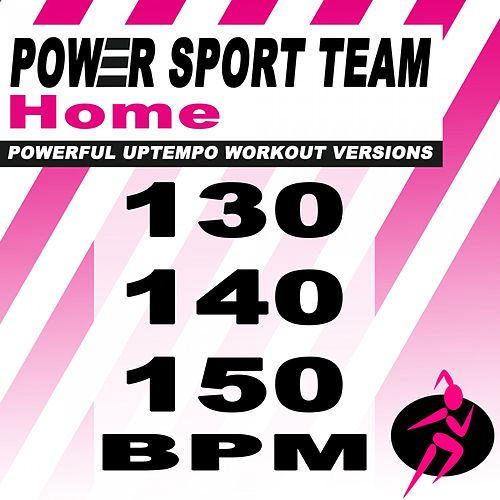 Home (Powerful Uptempo Cardio, Fitness, Crossfit & Aerobics Workout Versions) de Power Sport Team