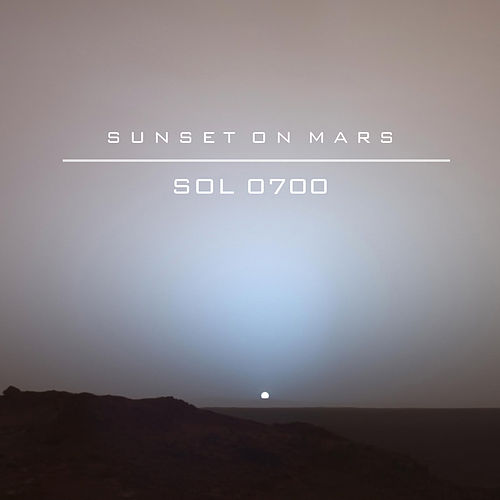 Sol 0700 von Sunset On Mars