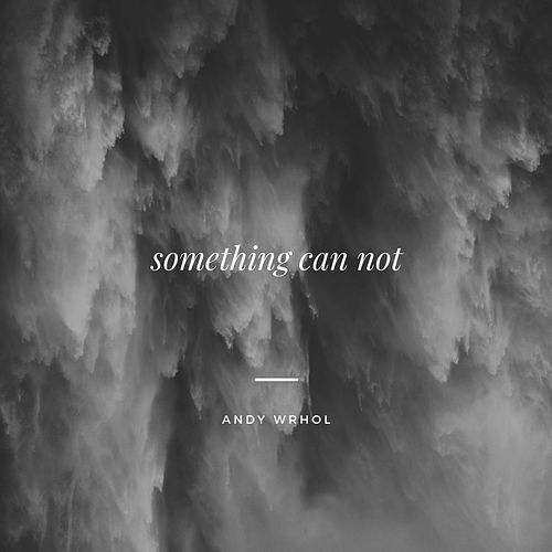 Something Can Not by Andy Wrhol