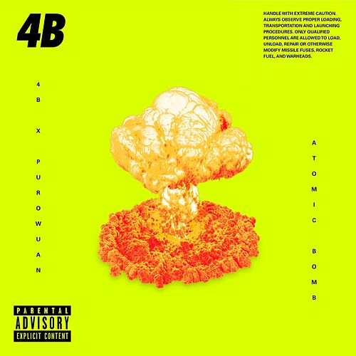 The Atomic Bomb by 4B