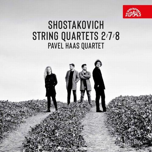 Shostakovich: String Quartets Nos. 2, 7 & 8 von Pavel Haas Quartet