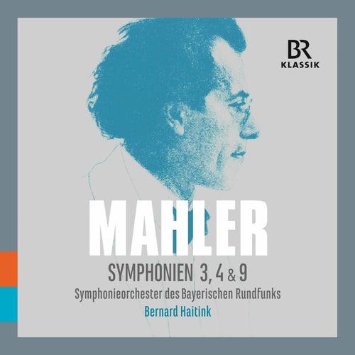 Mahler: Symphonies Nos. 3, 4 & 9 (Live) von Bavarian Radio Symphony Orchestra