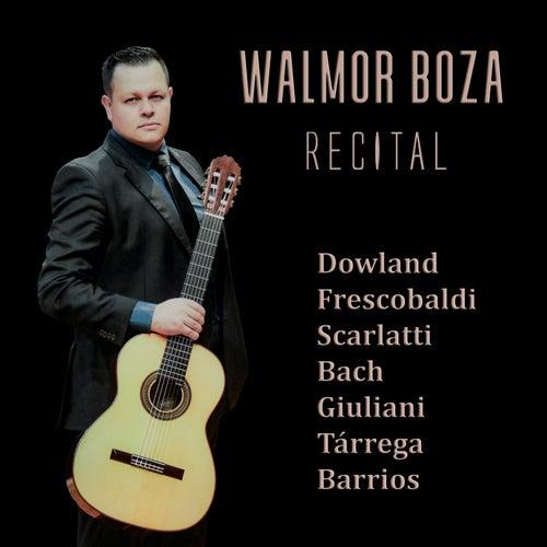Recital by Walmor Boza, Dowland (Composer), Frescobaldi (Composer), Scarlatti (Composer), Johann Sebastian Bach (Composer), Giuliani (Composer), Tárrega (Composer)