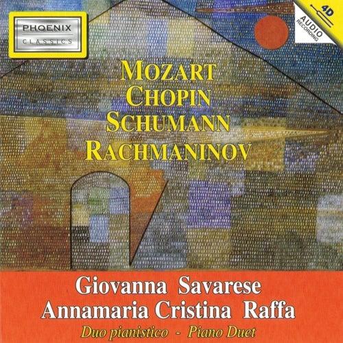 Mozart, Chopin, Schumann, Rachmaninov: Piano Duet by Annamaria