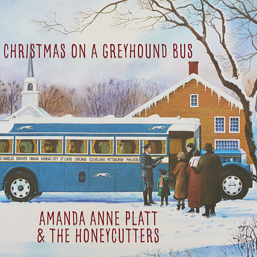 Christmas on a Greyhound Bus by Amanda Anne Platt
