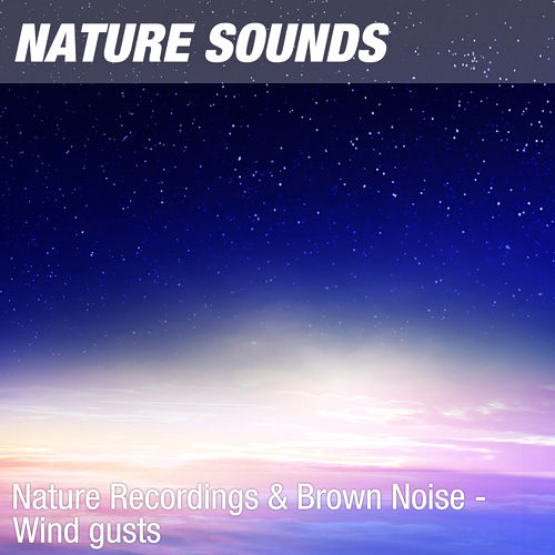 Nature Recordings & Brown Noise - Wind gusts by Nature Sounds (1)