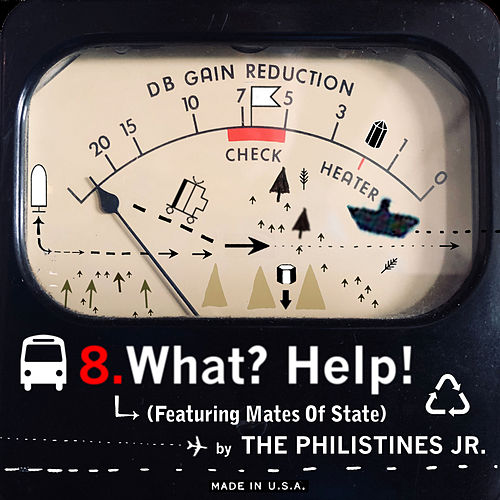 What? Help! (feat. Mates of State) de The Philistines Jr.