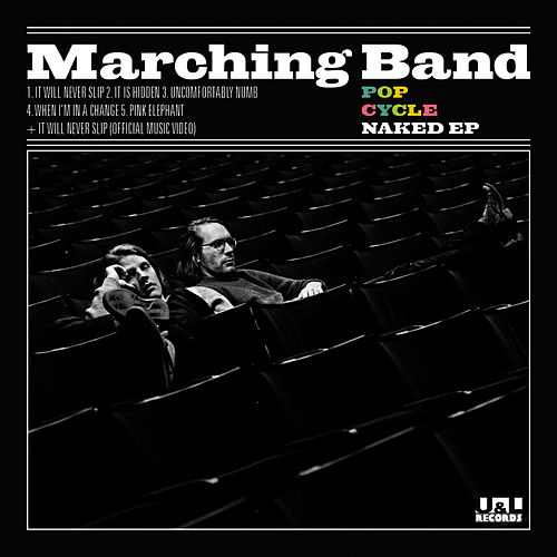 Pop Cycle Naked EP von The Marching Band