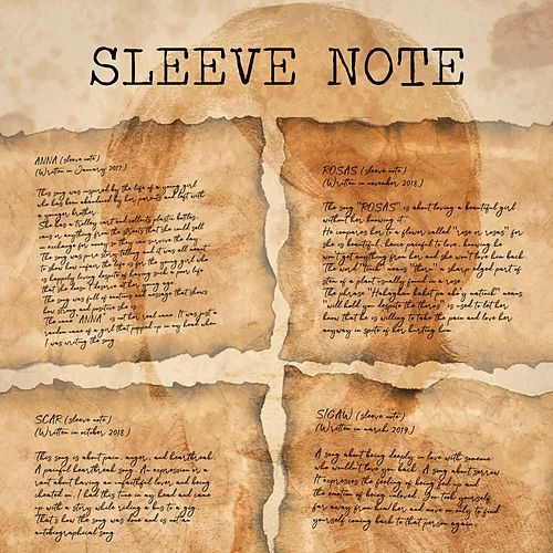 Sleeve Note by Jello