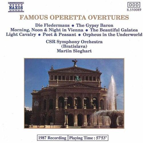 Operetta Overtures (Famous) de Martin Sieghart