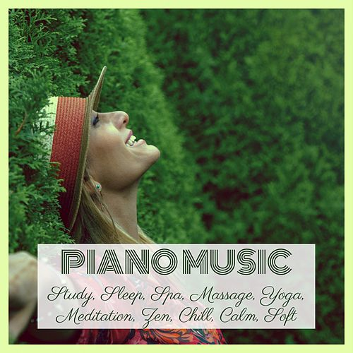 Piano Music: Study, Sleep, Spa, Massage, Yoga, Meditation, Zen, Chill, Calm, Soft von Various Artists