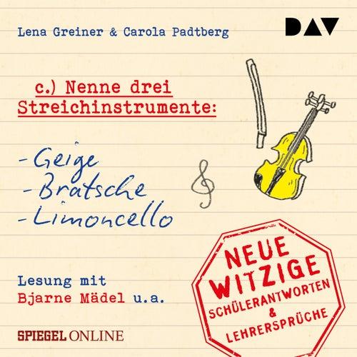 'Nenne drei Streichinstrumente: Geige, Bratsche, Limoncello' (Ungekürzt) von Lena Greiner