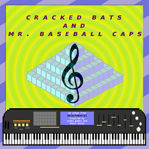 Cracked Bats and Mr. Baseball Caps by Galactodactyl