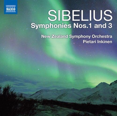 Sibelius: Symphonies Nos. 1 & 3 von Pietari Inkinen