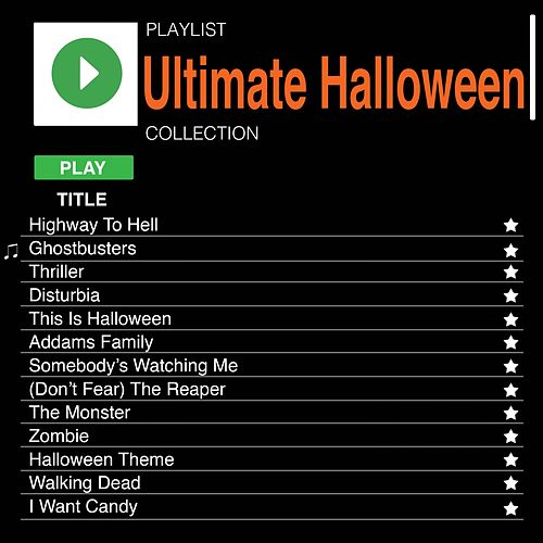 Ultimate Halloween Collection (100 Songs) de Various Artists