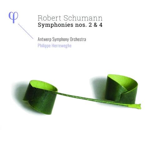 Schumann: Symphonies Nos. 2 & 4 de Antwerp Symphony Orchestra