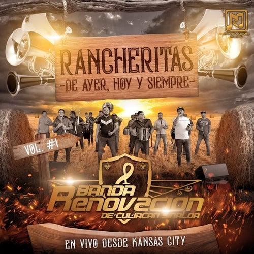 Rancheritas de Ayer, Hoy y Siempre Vol. #1 (En Vivo Desdes Kansas City) by Banda Renovacion