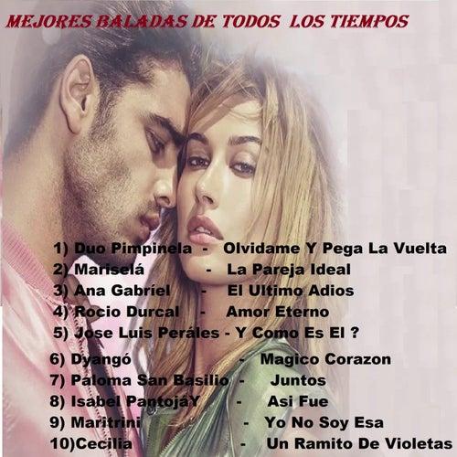 Mejores Baladas De Todos Los Tiempos by Various Artists