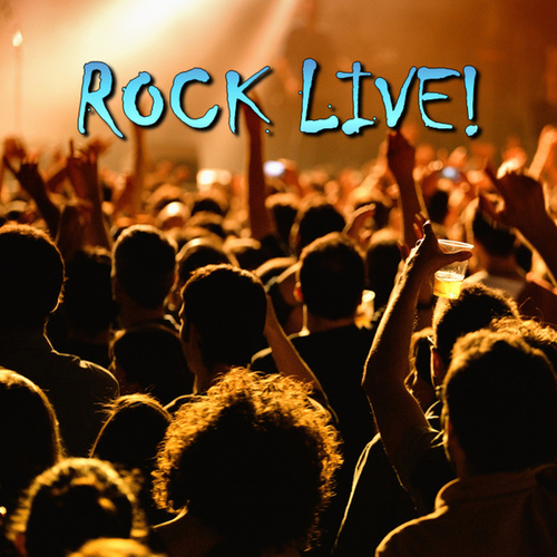 Rock Live! fra Various Artists