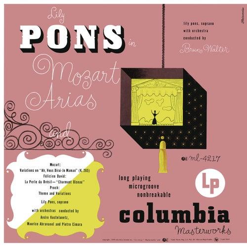 Mozart Arias de Lily Pons