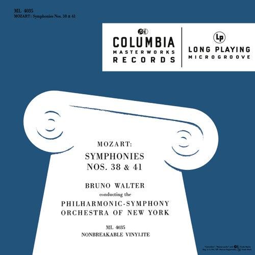 Mozart: Symphonies Nos. 38 & 41 by Bruno Walter