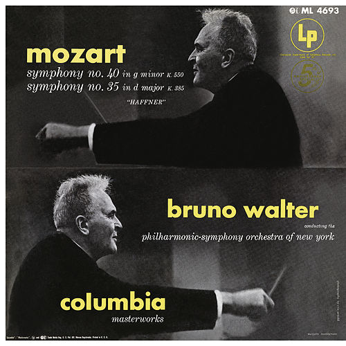 Mozart: Symphonies 35 & 40 by Bruno Walter