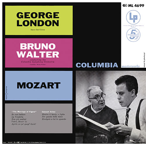 Mozart: Bass Arias von George London