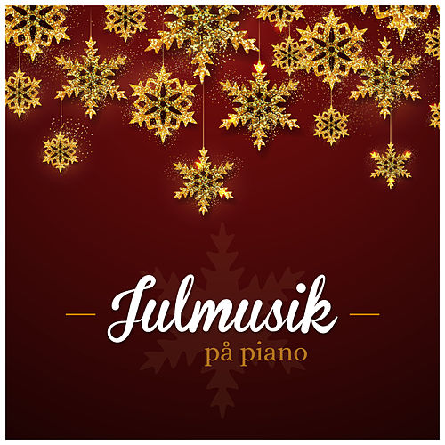 Julmusik på piano by David Schultz
