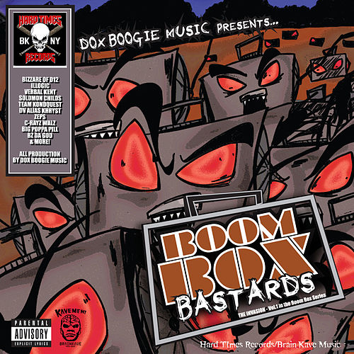 Boom Box Bastards Vol.1 (The Invasion) de Dox Boogie