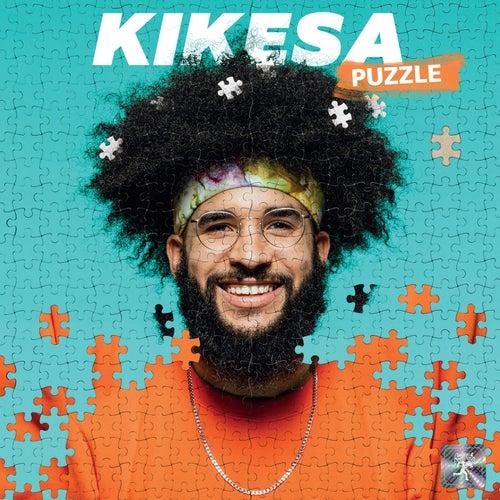 Bandana mauve de Kikesa