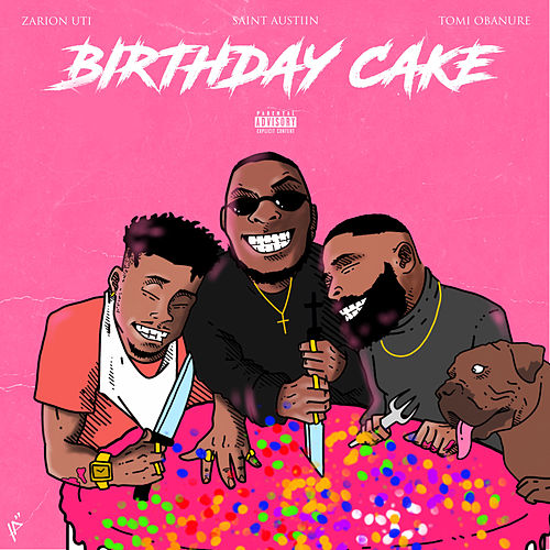 Birthday Cake de Saint Austiin