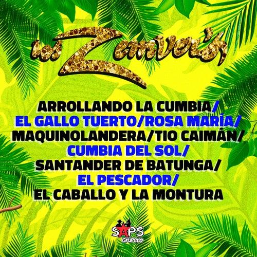 Arrolando La Cumbia / El Gallo Tuerto / Rosa Maria / Maquilandera / Tio Caimán / Cumbia Del Sol / Santander de Batunga / El Pescador / El Caballo Y La Montura by Los Zemvers