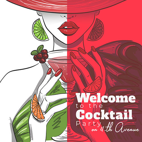 Welcome to the Cocktail Party on 4-th Avenue von Dale Burbeck