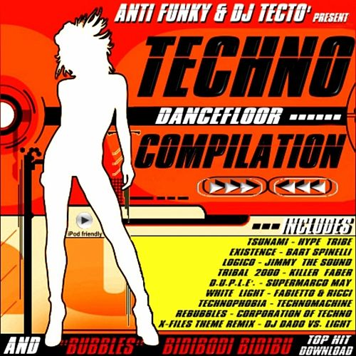 Techno Dancefloor Compilation de Various Artists