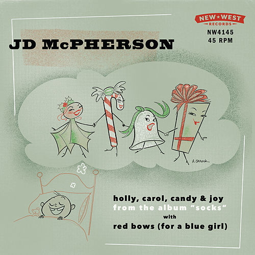 Holly, Carol, Candy & Joy / Red Bows (For A Blue Girl) von JD McPherson