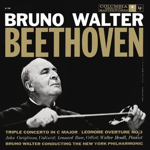 Beethoven: Triple Concerto & Leonore and Egmont Overtures de Bruno Walter