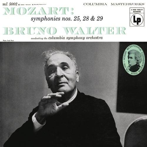 Mozart: Symphonies 25, 28 & 29 de Bruno Walter