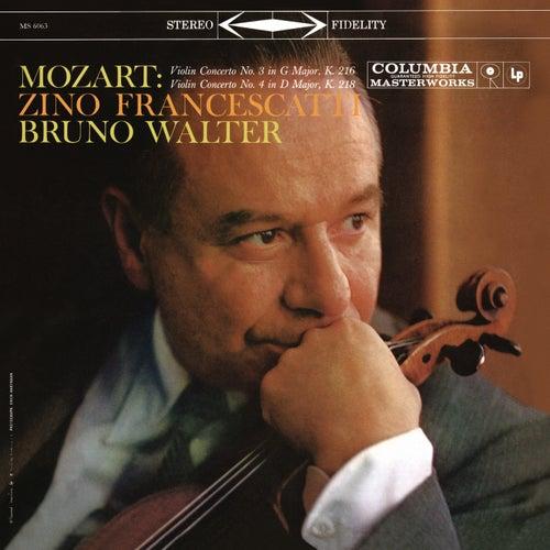 Mozart: Violin Concertos Nos. 3 & 4 (Remastered) de Bruno Walter